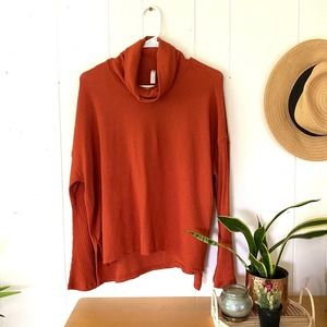 Free people movement rust top small nwot
